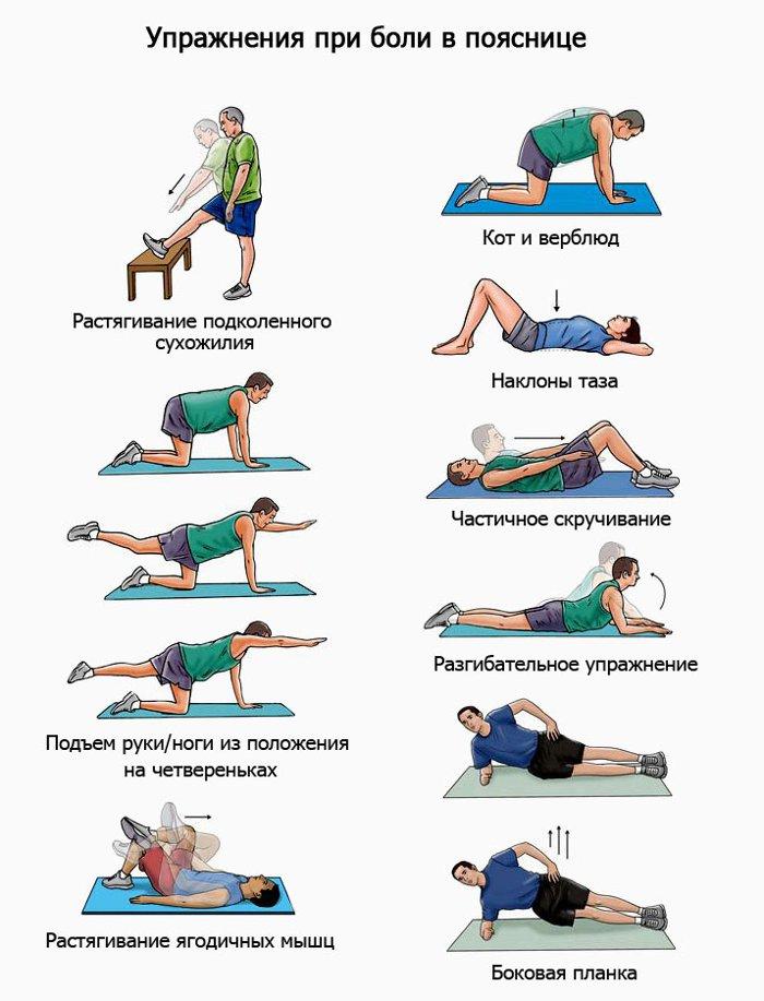 Qué ejercicios se deben hacer con una hernia espinal? Revisión de ...